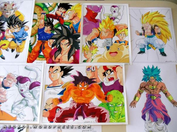 Dibujos DBZ1