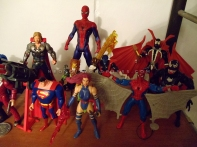 Superman, Figuras Marvel, Spawn