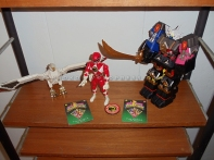 Falconzord, Red Ranger, Shogun Megazord