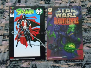 Comic Spawn y Star Wars