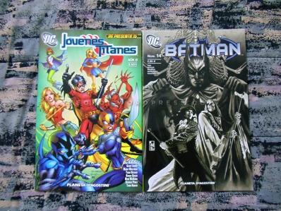 Cómics Jóvenes Titanes y Batman