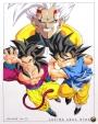 Dibujando a Goku y Baby de Dragon BallGT