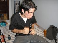 Grabando sonidos estilo Bruce Lee (Año 2008)