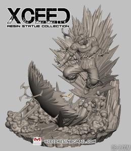 Xceed-Vol.7-Goku-vs-Buu