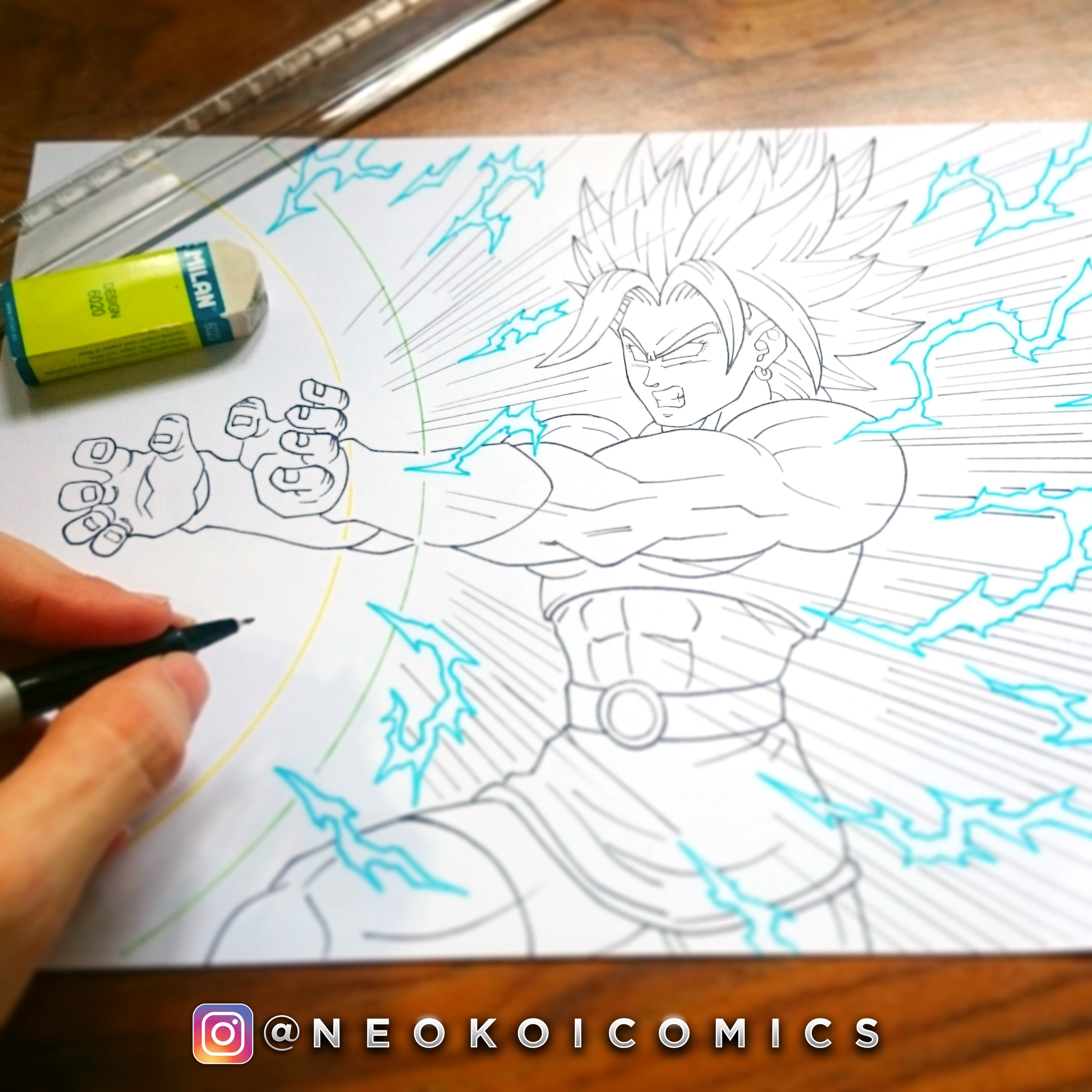 Drawing Kale Dragon Ball Super Neokoi Comics