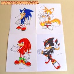 Sonic-Personajes