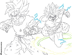 Dibujos De Dragon Ball Para Colorear Neokoi Comics